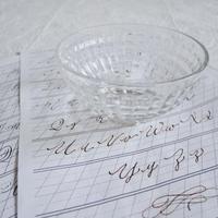 ガラスのカフェオレボウル