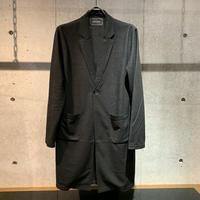 【Custom Culture】メランジ接結コーディガン ブラック