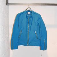 【N.MASAKI COLORS】BJドビークロス ライダースジャケット ブルー