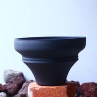 Yuta  Uchida 〝black  clay″   /   humanity pot       no.510-4