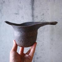 安西桂 〝土の子″ 鉢   no.013