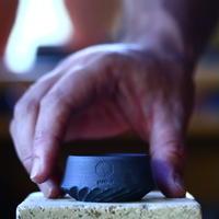 N/OH     コロ鉢  (紅富士)  サイズ1   no.100449