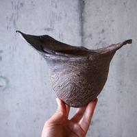 安西桂 〝土の子″ 鉢   no.014