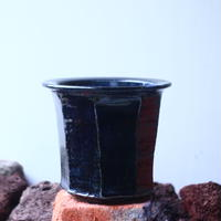 Tadao  Akutsu 〝瑠璃油″   /   humanity pot       no.51012