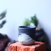 joint pot   安西桂   ×   安西岳郎   親子鉢〝土の子″    no.52442