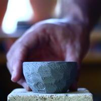 N/OH     コロ鉢  (スモーキーグレー)  サイズ2   no.100442