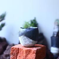 joint pot   安西桂   ×   安西岳郎   親子鉢〝土の子″    no.52422