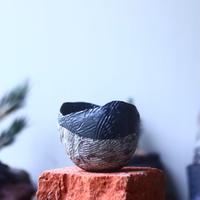 joint pot   安西桂   ×   安西岳郎   親子鉢〝土の子″    no.52436