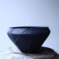 N/OH     INORI    盆栽鉢〝黒〟M  no.120115
