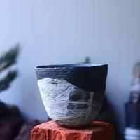 joint pot   安西桂   ×   安西岳郎   親子鉢〝土の子″    no.52418