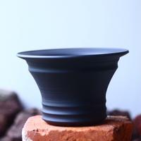 Yuta  Uchida 〝black  clay″   /   humanity pot       no.510-32