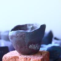 joint pot   安西桂   ×   安西岳郎   親子鉢〝土の子″    no.50305