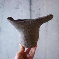 安西桂 〝土の子″ 鉢   no.019
