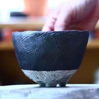 joint pot   安西桂   ×   安西岳郎   親子鉢〝土の子″ L   no.1018-18