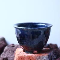 Tadao  Akutsu 〝瑠璃油″   /   humanity pot       no.51014