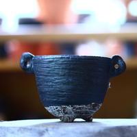 joint pot   安西桂   ×   安西岳郎   親子鉢〝土の子″ M ミミツキ  no.1018-41