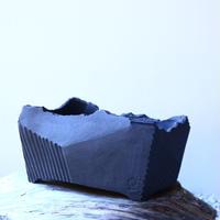 N/OH     澪標   盆栽鉢〝リッチブラック〟  M  no.121552