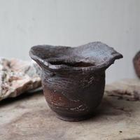 安西桂 〝土の子″ 鉢    no.1005