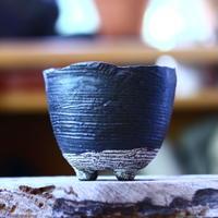 joint pot   安西桂   ×   安西岳郎   親子鉢〝土の子″  M  no.82364