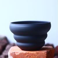 Yuta  Uchida 〝black  clay″   /   humanity pot       no.510-24