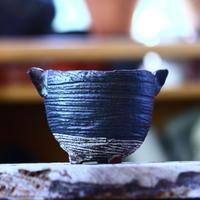 joint pot   安西桂   ×   安西岳郎   親子鉢〝土の子″ M ミミツキ  no.82369