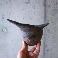 安西桂 〝土の子″ 鉢   no.002