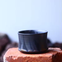 Yuta  Uchida 〝gold  glaze  mini″   /   humanity pot       no.510-58