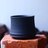 Yuta  Uchida 〝black  clay″   /   humanity pot       no.510-45