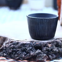N/OH     コロ鉢  XS  (ブラック釉)     no.1227-12