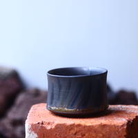 Yuta  Uchida 〝gold  glaze  mini″   /   humanity pot       no.510-63