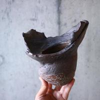安西桂 〝土の子″ 鉢   no.015