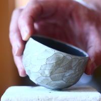 N/OH   コロ鉢  (ブルーグレー釉)  no.60759