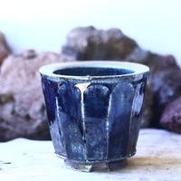 Tadao  Akutsu 〝瑠璃油″   /   humanity pot       no.42563