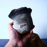 安西桂 〝土の子″ 鉢   No.008