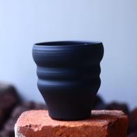 Yuta  Uchida 〝black  clay″   /   humanity pot       no.510-44