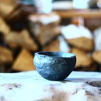 joint pot   安西桂   ×   安西岳郎   親子鉢〝土の子″ ボール  S  no.112949