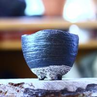 joint pot   安西桂   ×   安西岳郎   親子鉢〝土の子″  M  no.82362