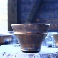 Yuta  Uchida 〝gold  rust″    /   humanity pot      no.11749