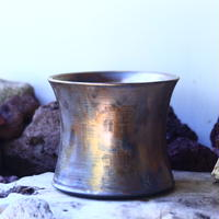 Yuta  Uchida 〝gold  rust″   /   humanity pot       no.42542