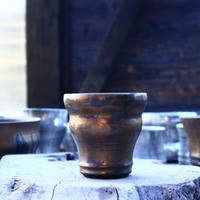 Yuta  Uchida 〝gold  rust″    /   humanity pot      no.11744