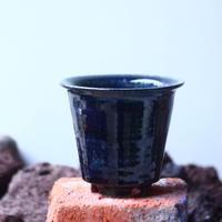Tadao  Akutsu 〝瑠璃油″   /   humanity pot       no.51016