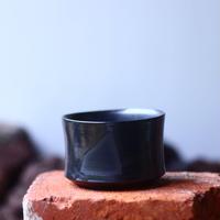Yuta  Uchida 〝black  glaze  mini″   /   humanity pot       no.510-59