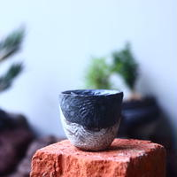 joint pot   安西桂   ×   安西岳郎   親子鉢〝土の子″    no.52440