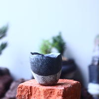 joint pot   安西桂   ×   安西岳郎   親子鉢〝土の子″    no.52434