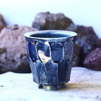 Tadao  Akutsu 〝瑠璃油″   /   humanity pot       no.42565