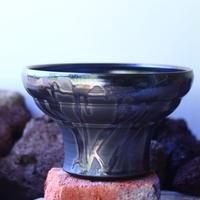 Yuta  Uchida 〝black  glaze″   /   humanity pot       no.42549