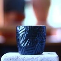 N/OH   コロ鉢  (ブラック釉)  no.60718