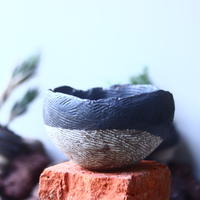 joint pot   安西桂   ×   安西岳郎   親子鉢〝土の子″    no.52408