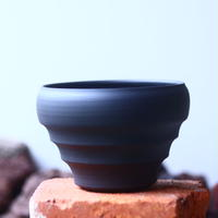 Yuta  Uchida 〝black  clay″   /   humanity pot       no.510-30