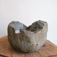 ノム爺の石鉢     no.012 φ16cm